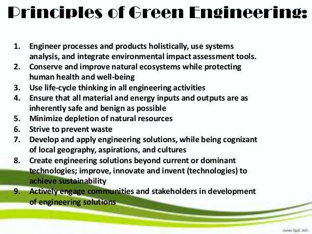 green chemistry minimizing the generation and Aquatrol technologies products  and minerals produce the potential for troublesome dust generation aquatrol technologies offers a full  green chemistry,.