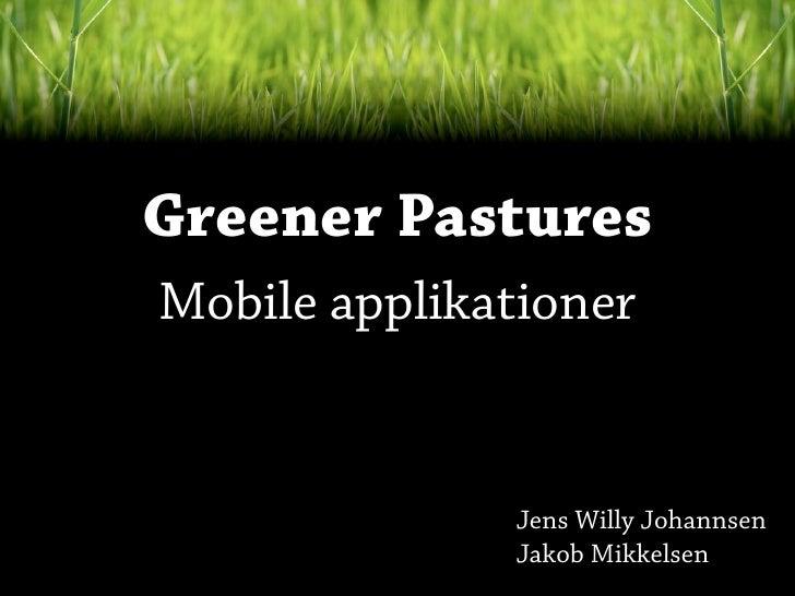 Det danske iPhone marked - iPhoneudvikling best practice