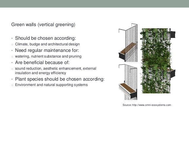 An Introduction To Green Walls Green Facades