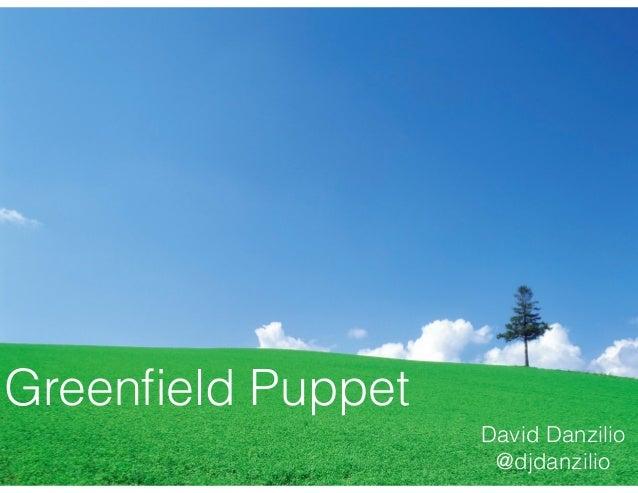 Greenfield Puppet David Danzilio @djdanzilio