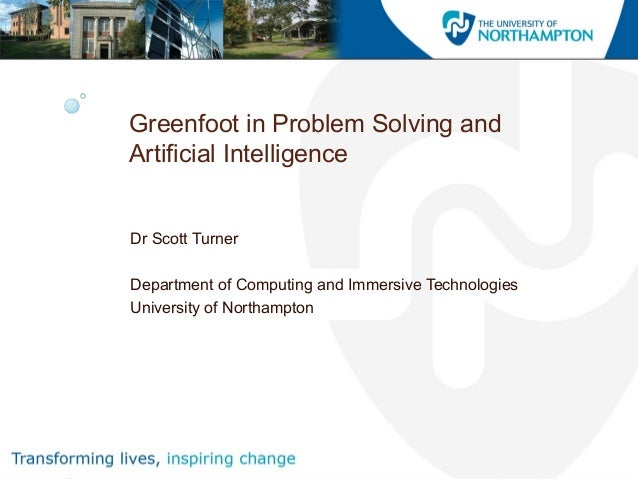 problem solving artificial intelligence
