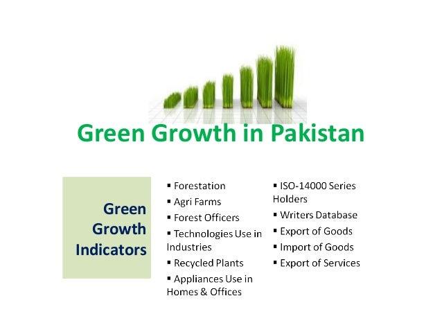 Green Growth in Pakistan