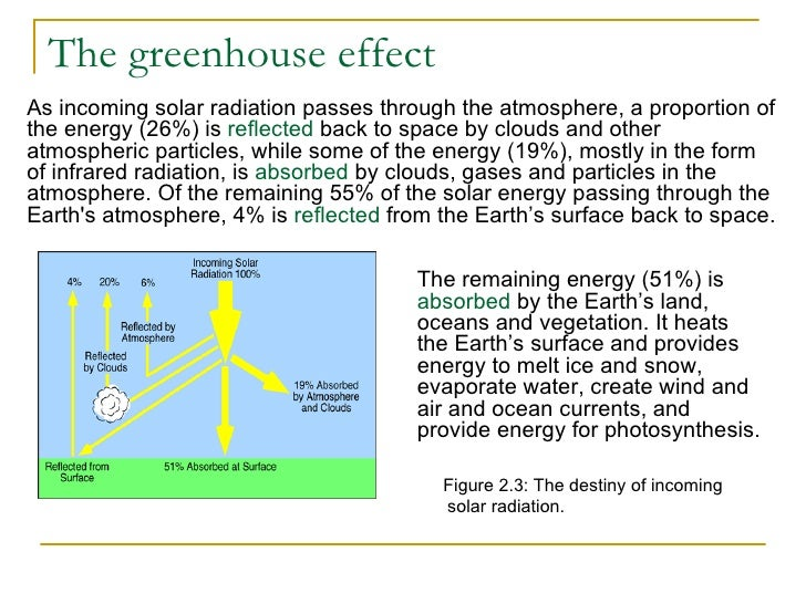 an analysis of environmental science in the greenhouse effect A couple decades ago i thought global warming was mostly hype then i learned  how the majority of the sunlight is reflected off the earth (grass, rocks, dirt, water.