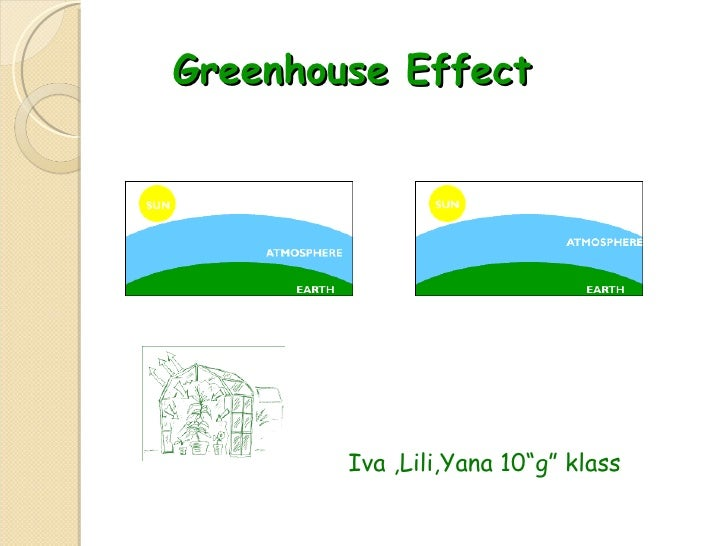 "Greenhouse Effect  Iva ,Lili,Yana 10""g"" klass"