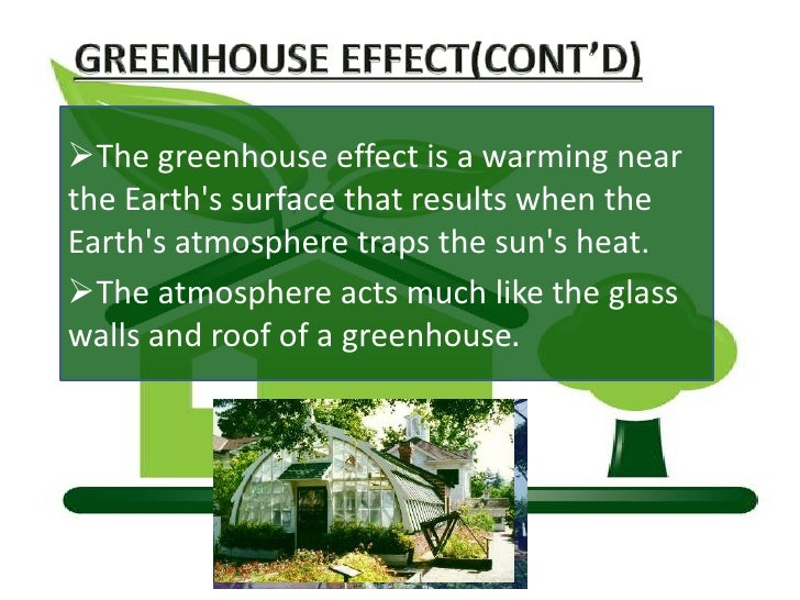 Green Housse Effect Of Green House Effect