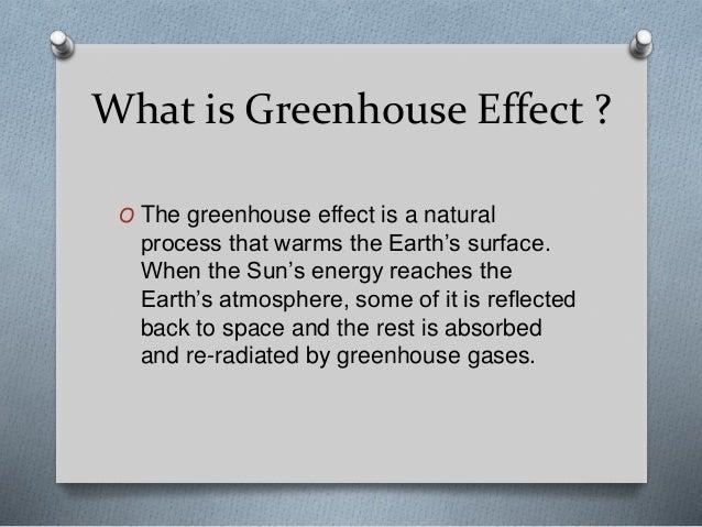 Greenhouse Effect Slide 2