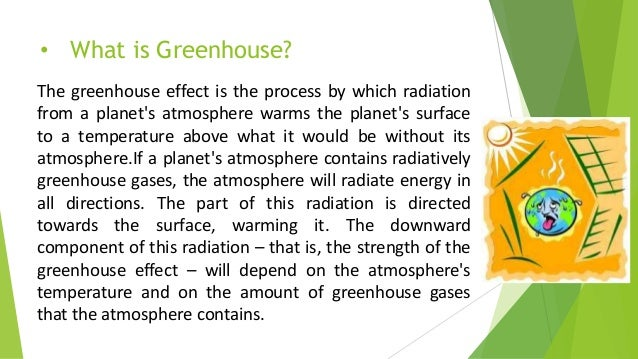 Green house effect for What is a green home