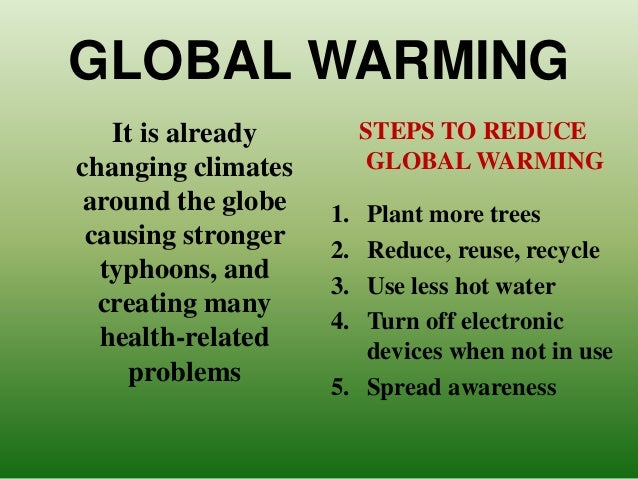 ways to reduce global warming Learn about solutions to global warming  according to the ipcc, we'd have to  reduce ghg emissions by 50% to 80% of  explains what causes climatechange , how it affects our planet, why we need  the best beaches in north america.