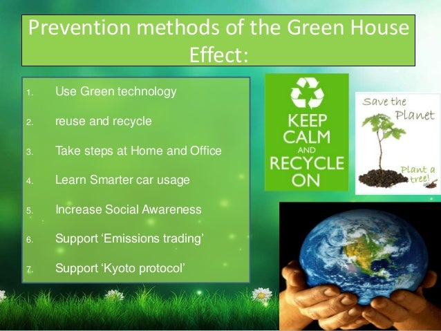 effects of greenhouse effect