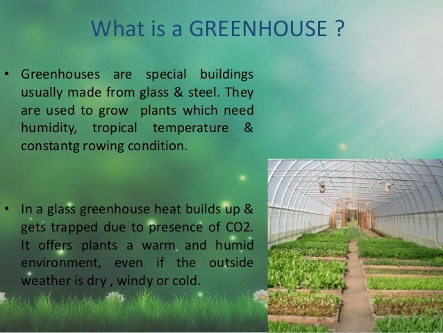 Presentation on greenhouse effect climate change for What is a green home