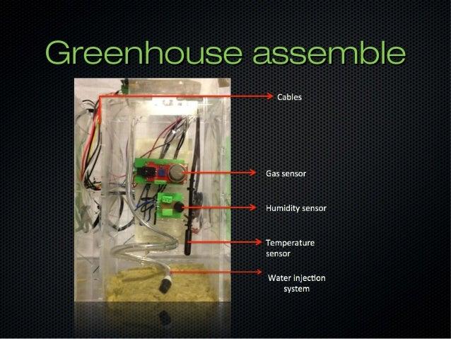 Prossateam arduino greenhouse project