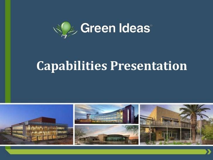 Capabilities Presentation<br />