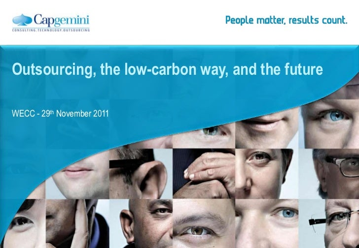 Outsourcing, the low-carbon way, and the futureWECC - 29th November 2011