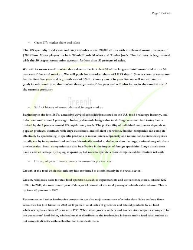 hybrid wholesaler business plan