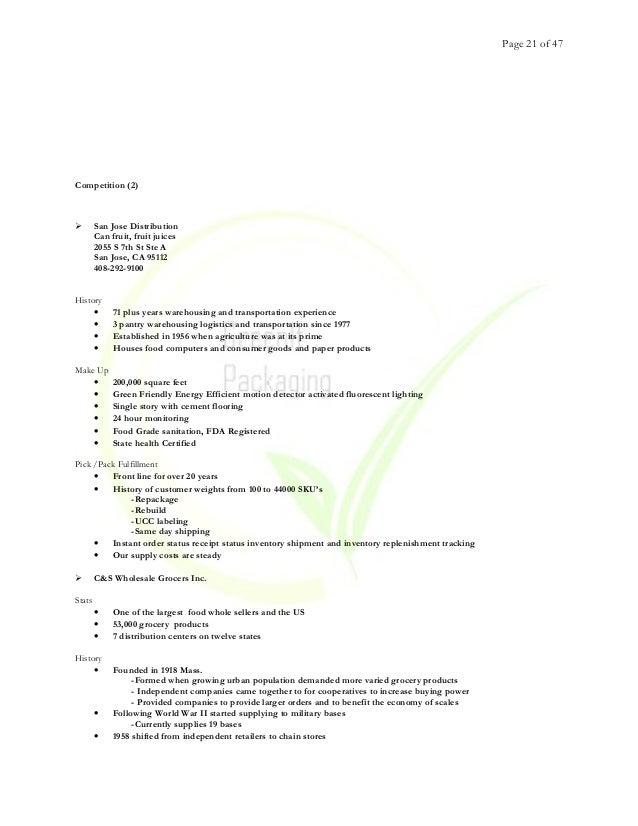 Green It   Business Plan