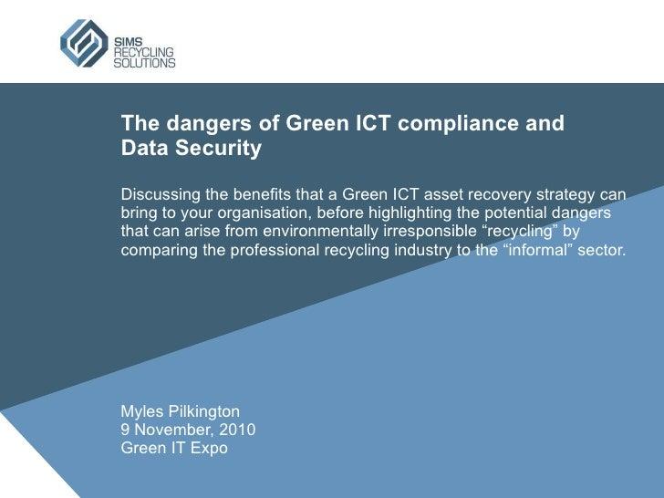 Dangers of Green ICT Compliance