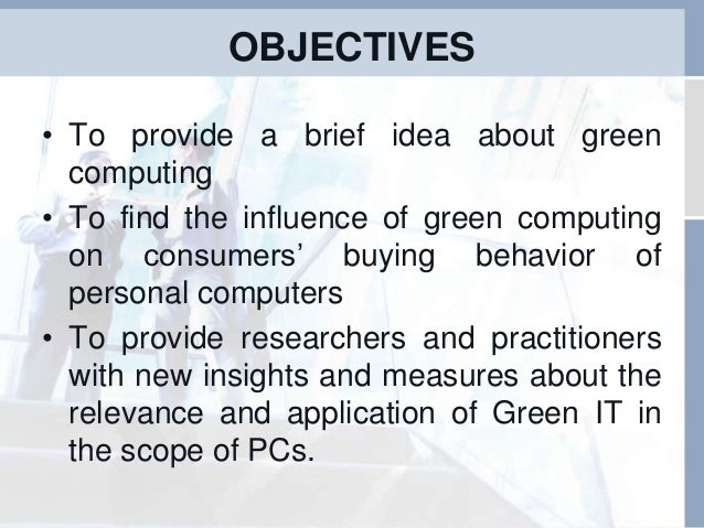 Essay about green computing