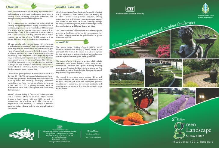 About CII                                                       About CII - Godrej GBCThe Confederation of Indian Industry...