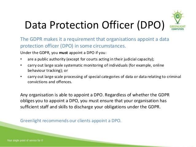 GDPR solutions (JS Event 28/2/18) | Greenlight Computers