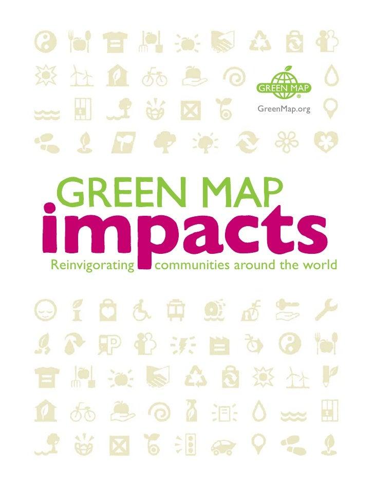 GreenMap.org     Reinvigorating   communities around the world