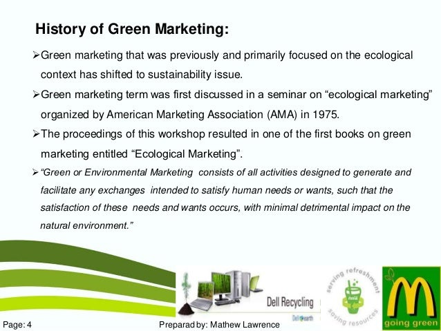 5 Reasons Why Green Marketing Is a New World