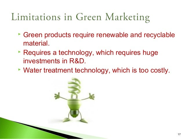impact of green marketing Green strategies are necessary, but which ones, and how will we pay for them   it is a catalyst for innovation, new market opportunity, and wealth creation  view  asserts that environmental regulations are not only benign in their impact on.