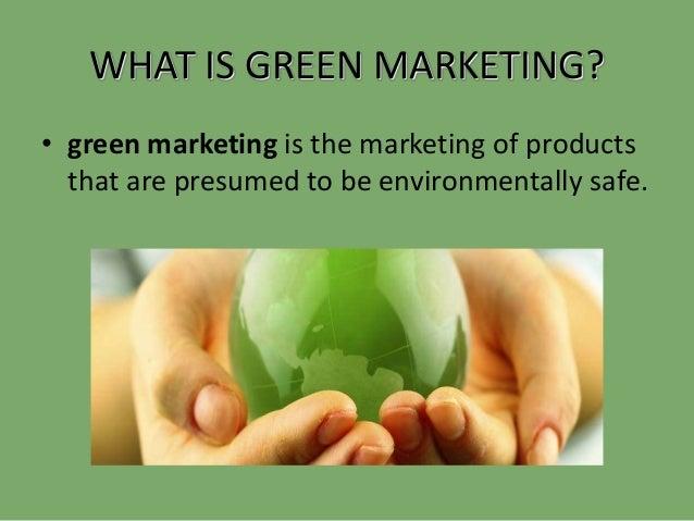 impact of green marketing