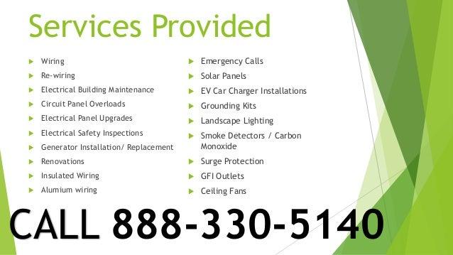 24HR Mission Viejo Electrician 949-427-0092