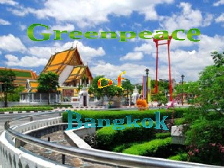 Greenpeace of Bangkok