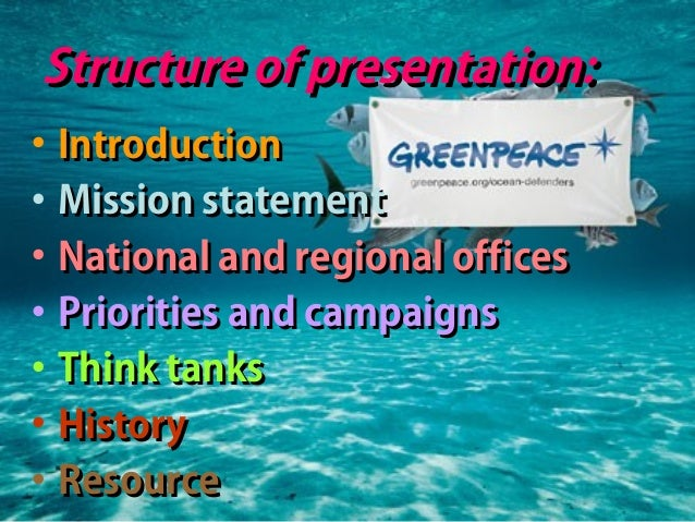 the organization introduction greenpeace Introduction  contribution of the organization to the work of the united nations   sdsnk, unep, greenpeace, and korean association for.