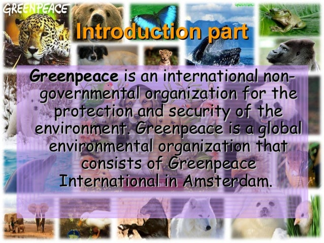 greenpeace introduction A technical commentary on greenpeace's nanotechnology report portion of the recent greenpeace report on nanotechnology and this introduction.