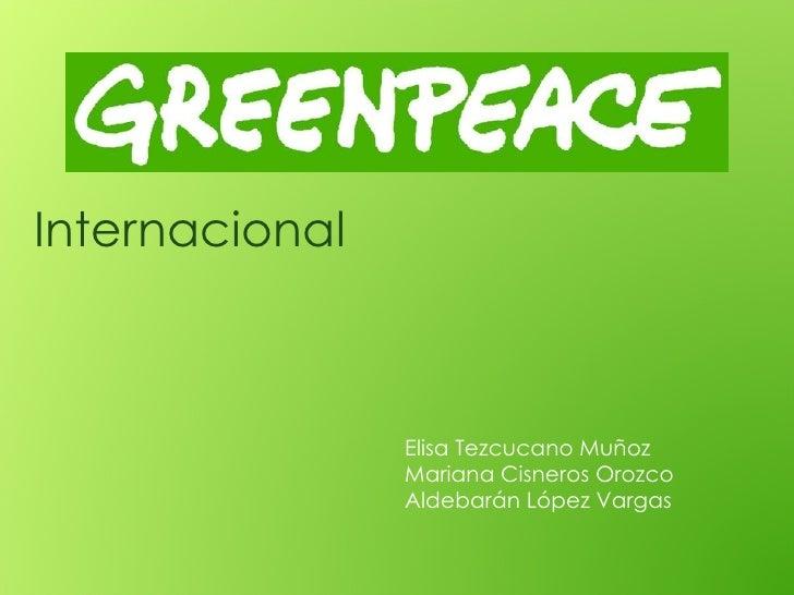 Internacional Elisa Tezcucano Muñoz Mariana Cisneros Orozco Aldebarán López Vargas