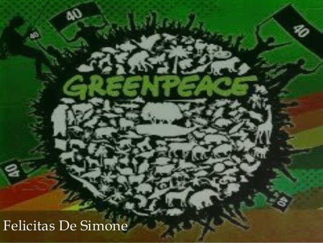 greenpeace by feli de simone