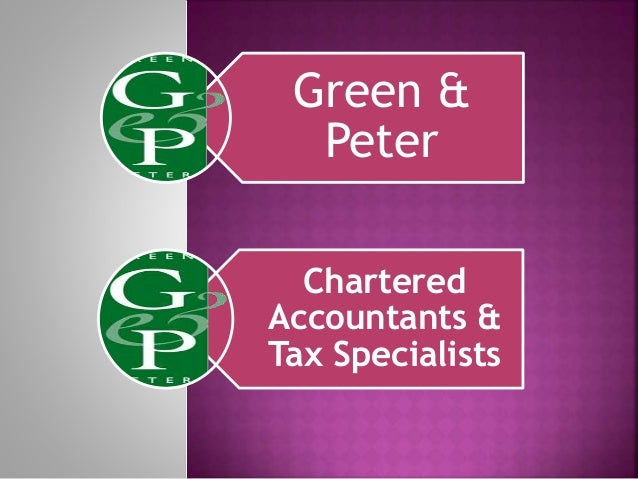 Green & Peter Chartered Accountants & Tax Specialists