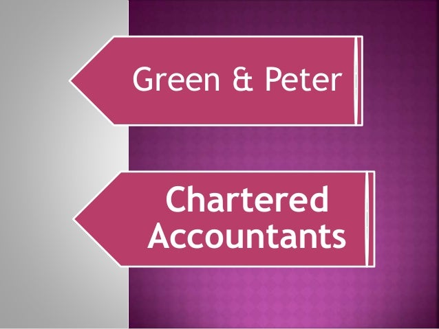 Green & Peter Chartered Accountants