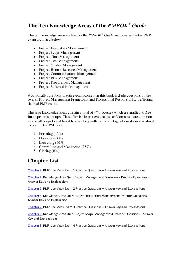 Green Pmp Exam Prep Questions Answers Explanations 2013 Edition By Ch