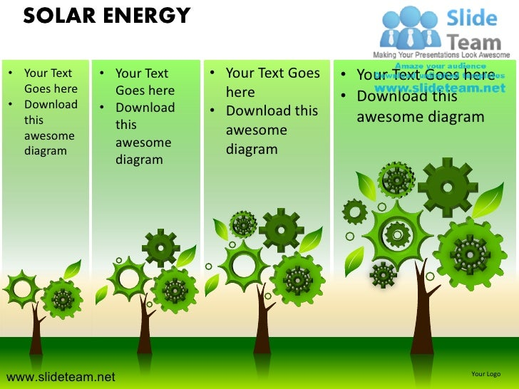 Green renewable windmill solar energy powerpoint ppt templates