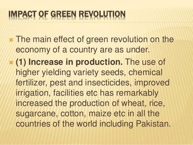 green revolution essay pdf