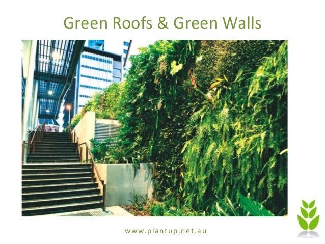 www.plantup.net.au Green Roofs & Green Walls