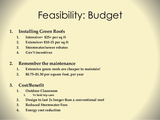 Intro to green roofs for educators for Green roof cost per square foot