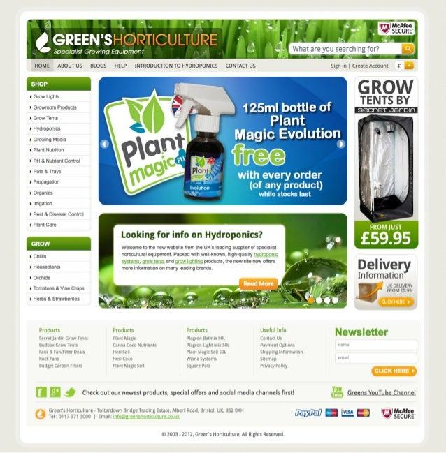 Greens Horticulture