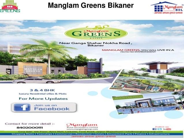 Manglam Greens Bikaner