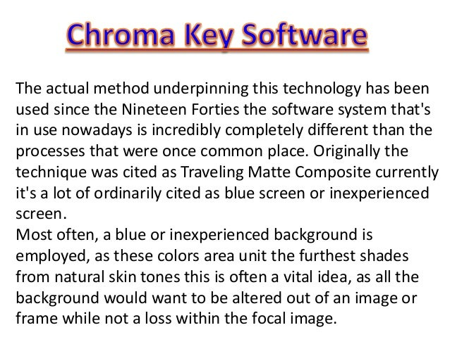 The actual method underpinning this technology has been used since the Nineteen Forties the software system that's in use ...