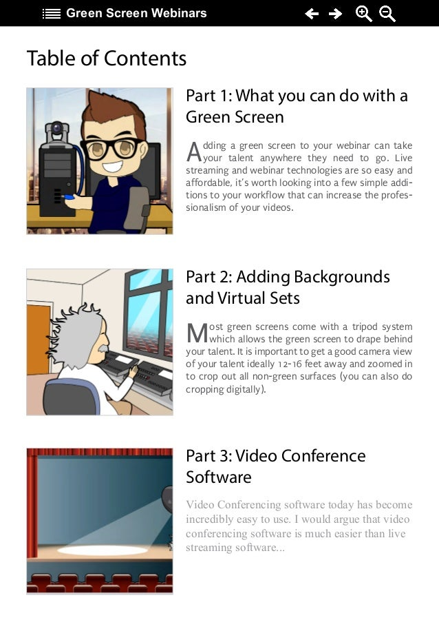 Green Screen Webinar