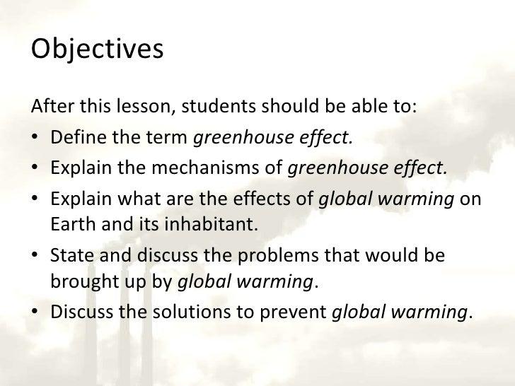 Custom Solution to Global Warming Essay