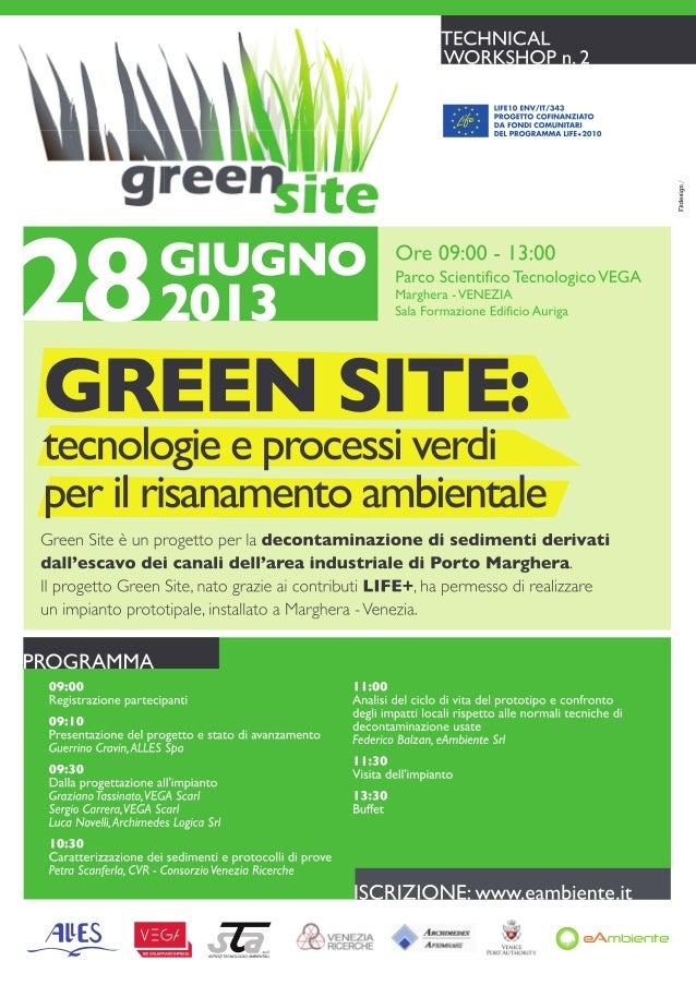 GREEN SITE: tecnologie e processi verdi per il risanamento ambientale