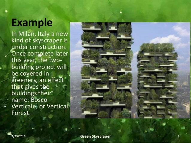 Green Skyscraper S