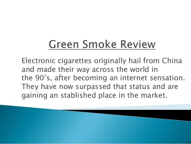 Electronic cigarettes originally hail from Chinaand made their way across the world inthe 90′s, after becoming an internet...