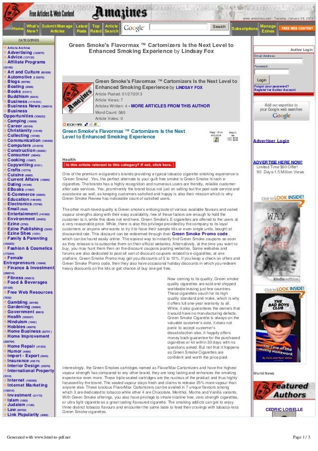 www.amazines.com - Tuesday, January 29, 2013              Whats Submit/Manage Latest Top Article                          ...