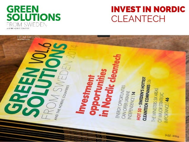 INVEST IN NORDIC CLEANTECH